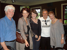 John Carey, Angela Stretch, Christine Carey, Martin Langford and Sue Emery