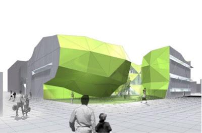 Le futur Conservatoire de Noisy-le-Sec, cabinet d architectes Jakob & Macfarlane