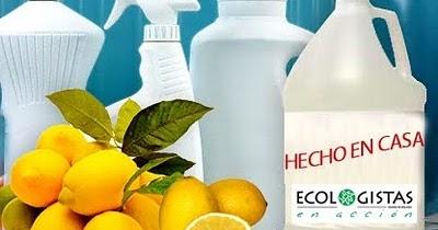 Recetas de cosm tica casera productos de limpieza caseros - Productos de limpieza caseros ...