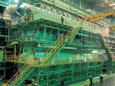 World Most Powerful Engine - Wartsila RT-flex96C