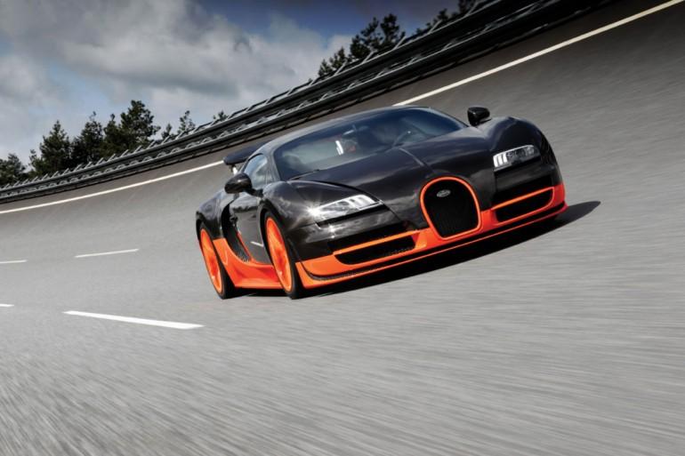 Bugatti Veyron world s fastest production car Super Sport