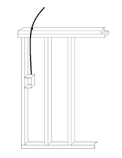 The trench how to fish wires through a wall or ceiling for How to fish wire through ceiling