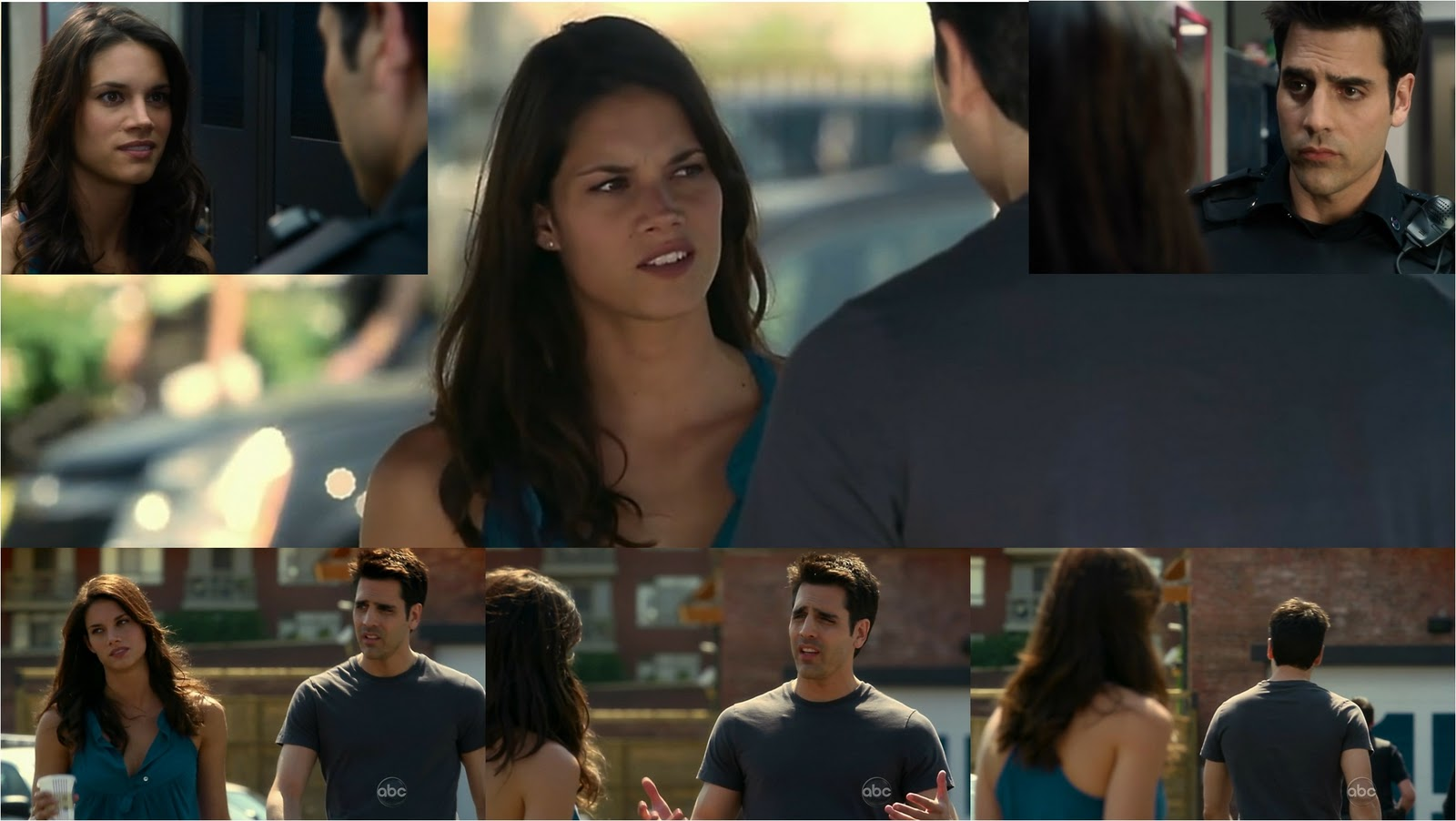 Rookie Blue     1X04Rookie Blue Andy And Sam