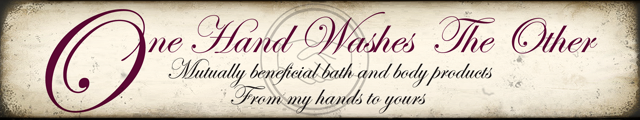 One Hand Washes The Other