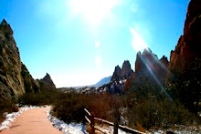 the beautiful Garden of the Gods, CO