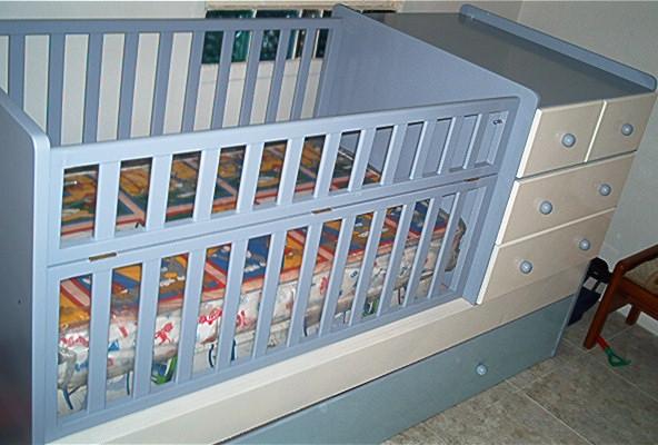 Su mueble a la medida: Juego de cuarto infantil con cuna, gavetero y ...