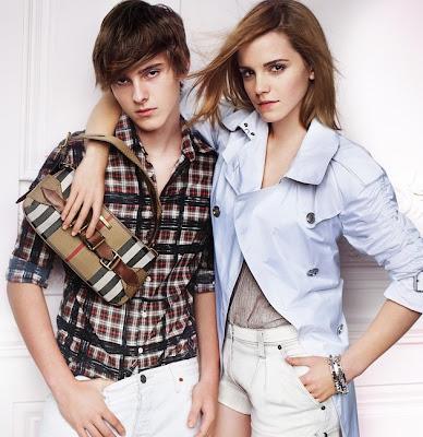 emma watson haircut burberry. Emma Watson for Burberry