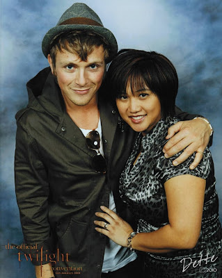 Dette and Charlie Bewley, 2010 Los Angeles Twilight Convention