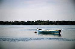 Bote en el Rio Uruguay