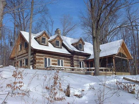 Build It Yourself For Dummies How To Build Your Own Log Home