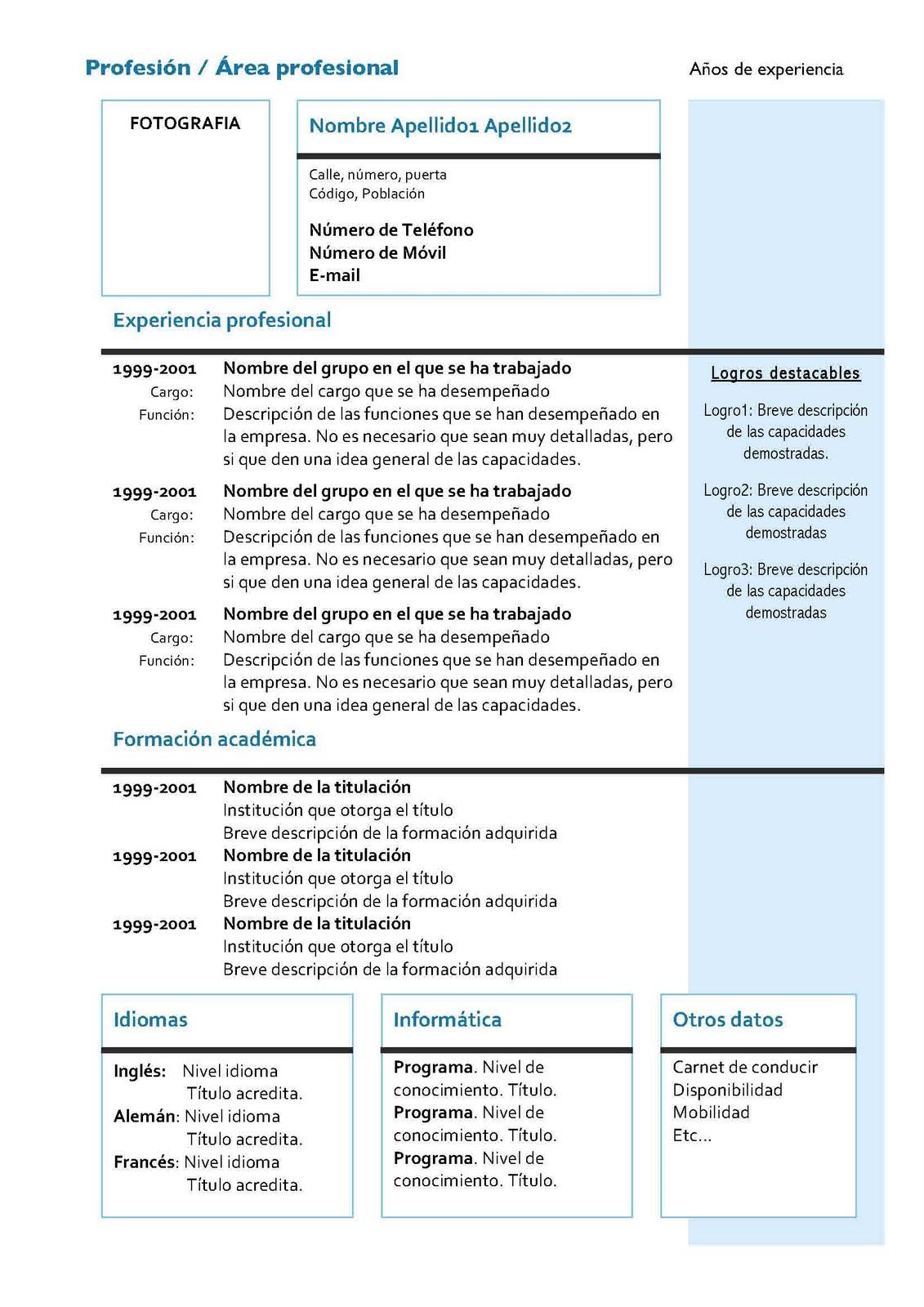 Metáfora: Instrucciones para elaborar mi CV (Hoja de vida)