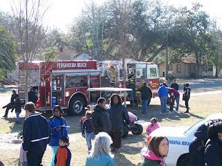firetruck at Transportation Day