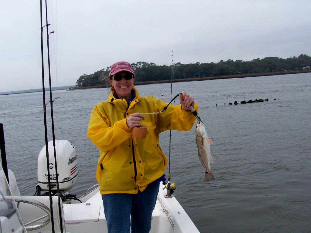 Amelia island fishing reports out of the fog redfish for Amelia island fishing