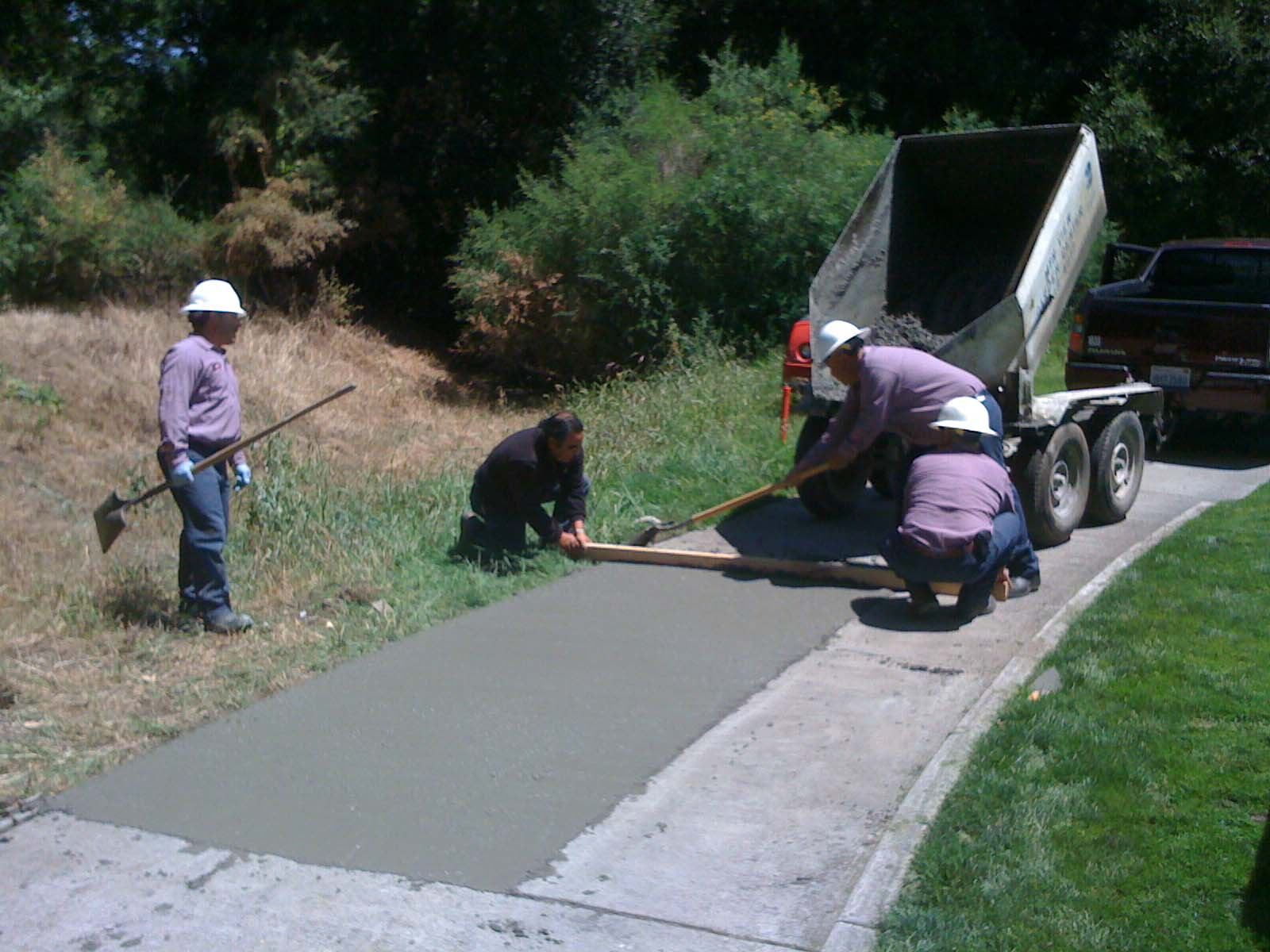Stanford golf course superintendent 39 s blog 2010 05 21 for Cleaning concrete paths