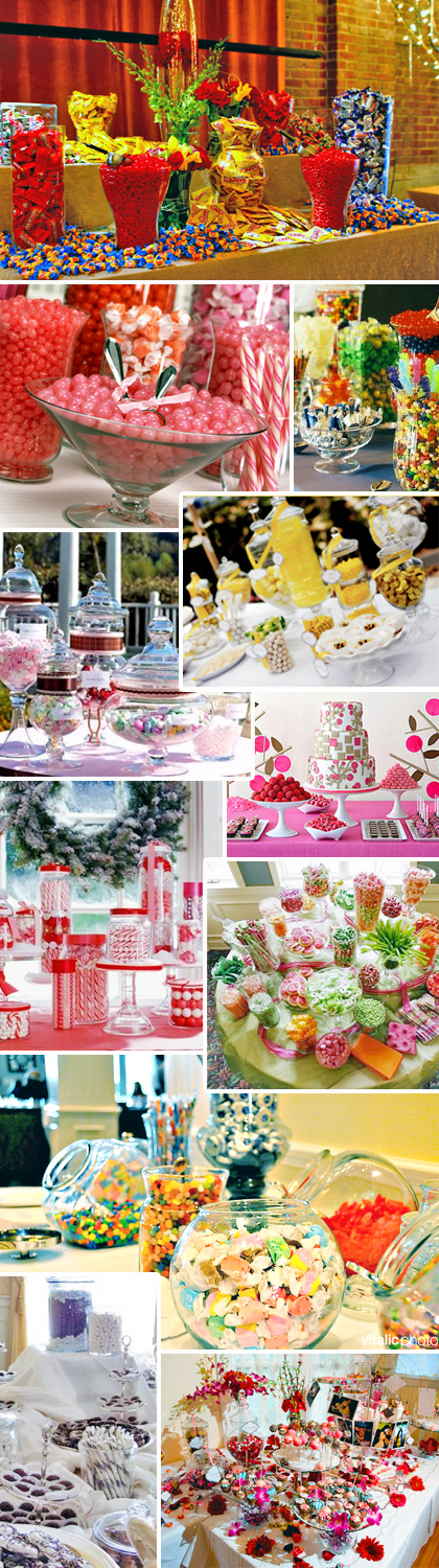 Wedding Candy Bar Ideas Image Search Results