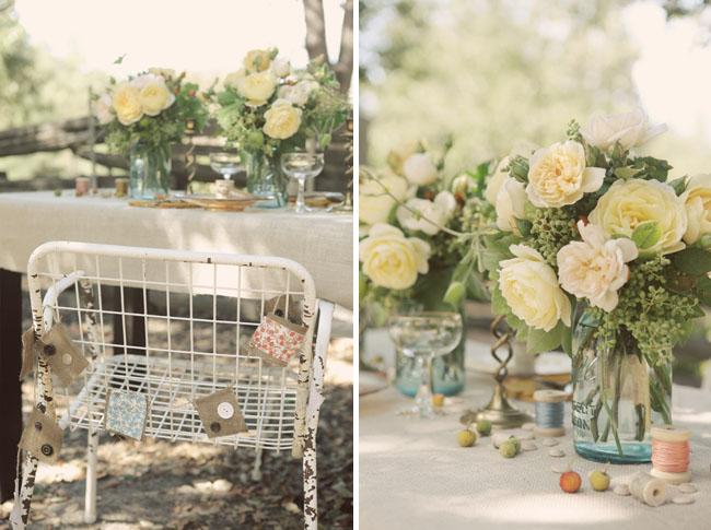 Trendee Flowers Designs Vintage Style Wedding