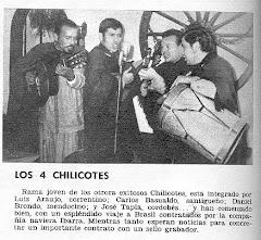 Actuacion en TV  LOS CHILICOTES