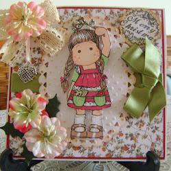 magnolia tilda, merry christmas,hugs jackie x