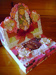 MAGNOLIA TILDA,EASEL CARD WITH GIFT DRAW