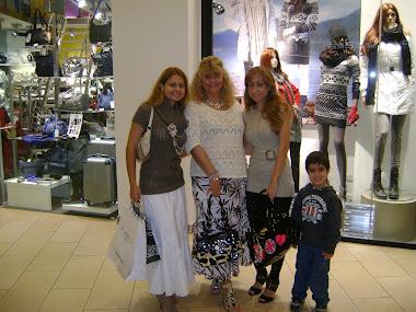 MY TWO GORGEOUS DAUGHTERS ,CHARLENE,AMANDA,AND MY CUTE GRANDSON JULIAN,