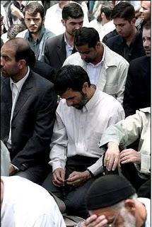 Ahmadinejad David sedang di iran