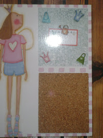 "PANEL PARA NOTAS Y FOTOS ""PRINCESS"""