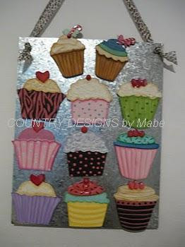 CUPS CAKES IMANES