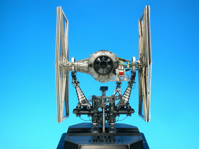 "The ""Tie Fighter"" work."