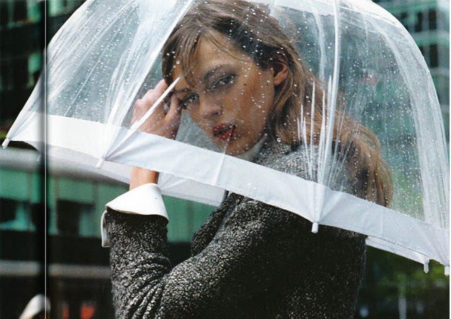 Design And Lifestyle New York Fashion Accessories Umbrella Stylish Designer Rain Fall Clear Bubble