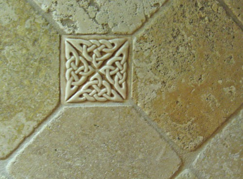 Decorative handmade ceramic tile how to make your own ceramic tile grout - Decoratie grot ...