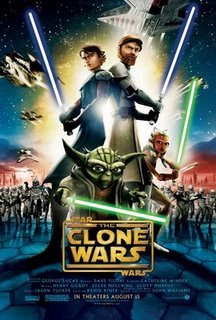 STAR WARS - CLONE WAR - FILME