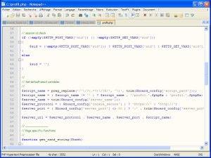 Notepad++, éditeur de texte avancé