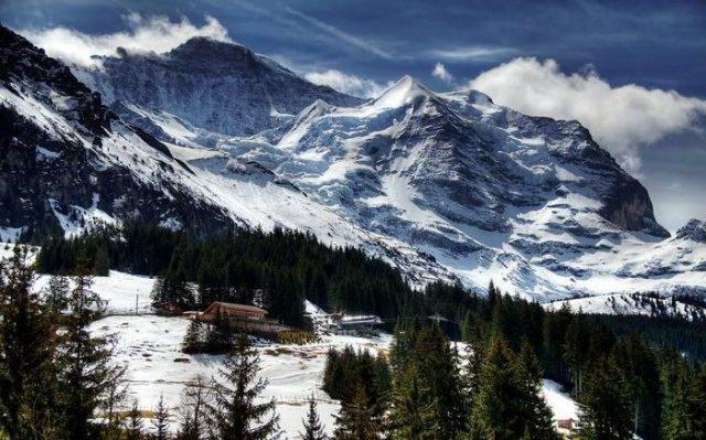 Stunning Winter Mountain Nature Wallpapers