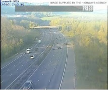 M25 East Web Cam at Godstone.(Towards Dartford)