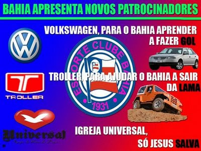 Patrocinadores do Jahia
