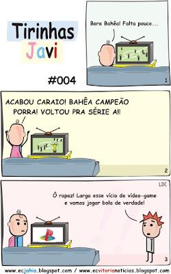 Tirinhas Javi 004 - Vitória x Bahia (Jahia) - BAVI