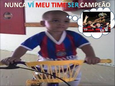 Torcedor do Bahia: nunca vi meu time ser campeão...