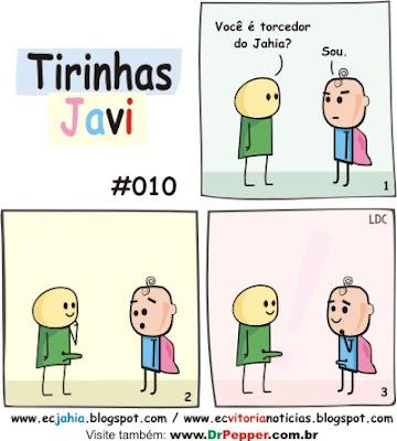 Tirinhas Javi 010 - Vitória x Bahia (Jahia) - BAVI