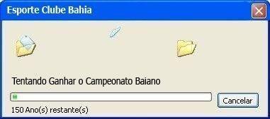 Bahia tentando ganhar um campeonato baiano