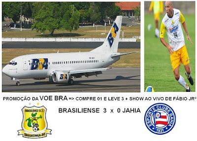 Brasiliense 3 x 0 Jahia