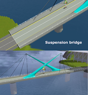 Декорации для районов Suspension+bridge