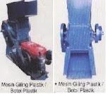 Mesin Giling Plastik/Botol Plastik