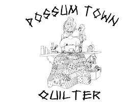 Possum Town Quilter Emblem