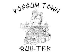 Possum Town Quilter Emblem