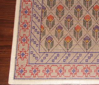 Punto cruz chile vendo esterillas marcadas for Donde venden alfombras