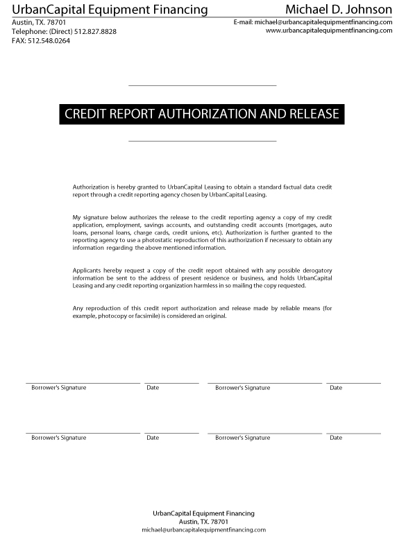 equipment quote forms templates
