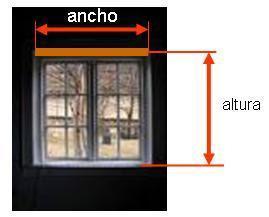 fuera del marco de la ventana este modelo es el recomendado cuando las ventanas son abatibles en este caso de los bordes laterales de la ventana suelen