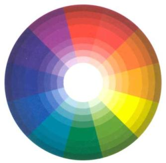 el color en la imagen: