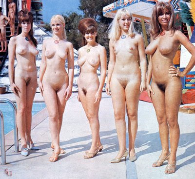 The Ladies of Miss Nude Universe 1967. Posted by M.Christian