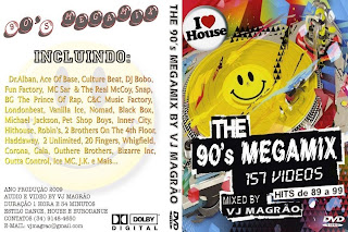 VJ Magrao - 90's Video Megamix